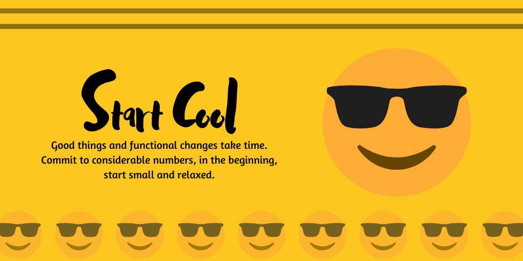 Start cool