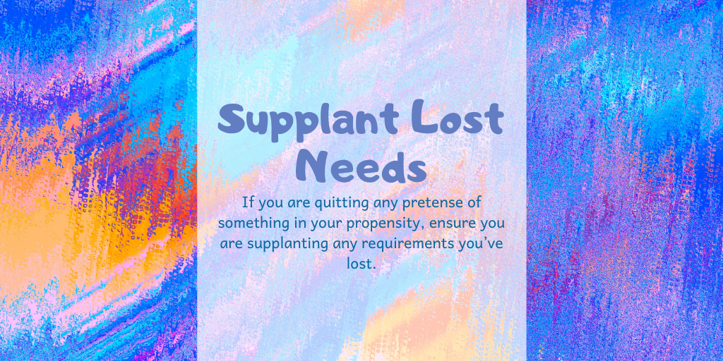 Supplant lost n...